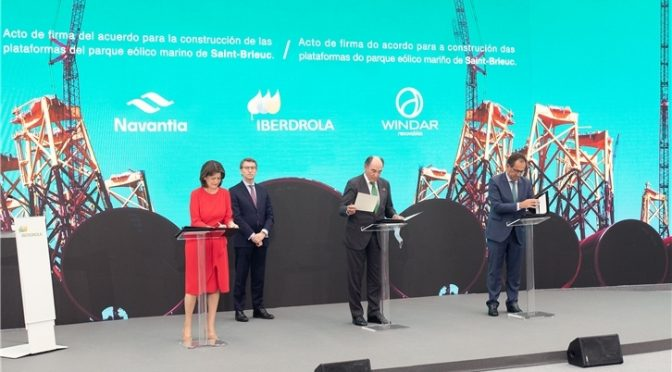 Iberdrola awards Navantia-Windar record offshore wind power contract, worth €350m