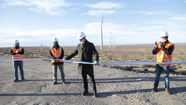 Wind energy in Neuquén, first wind farm