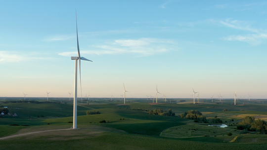 Ørsted completes the onshore Plum Creek Wind energy project