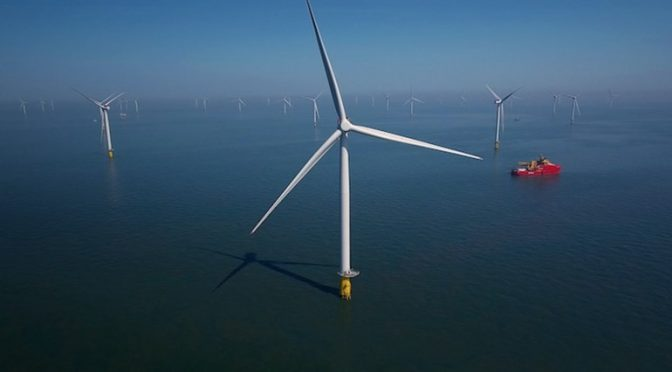 California offshore wind energy show promise as power source