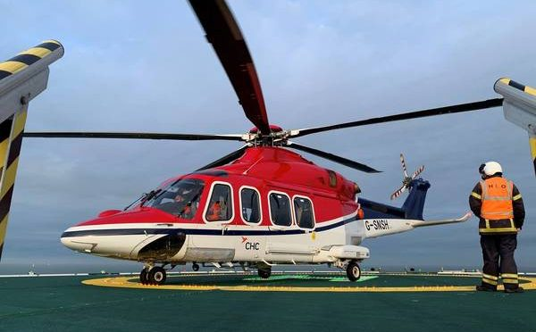 CHC Helicopters for Ørsted's Hornsea Two Offshore Wind Farm