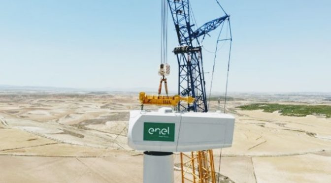 Enel Green Power starts construction of the Partanna wind farm in Sicily