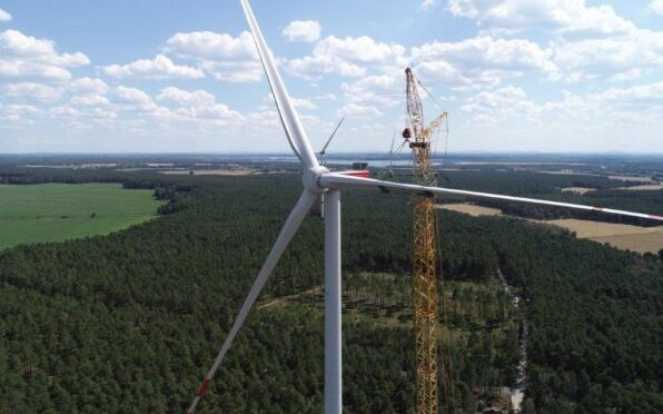 Wind energy in Germany, Nordex wind turbines for 300 MW wind farm