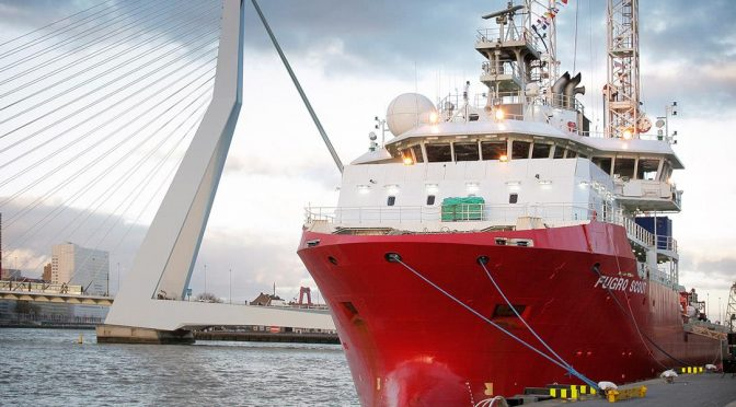 Fugro launches investigations for Vattenfall at two UK offshore wind power plants
