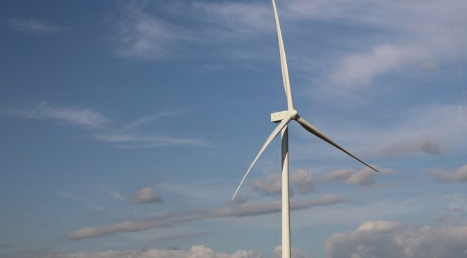 EDP Renewables North America's 200 MW Harvest Ridge Wind Farm has finished