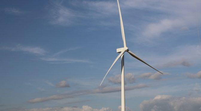 EDP Renewables North America's 200 MW Harvest Ridge Wind Farm has finished