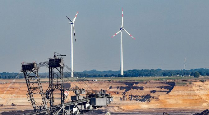 Wind energy is key to coal regions in transition