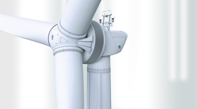 Enercon installs wind energy E-160 EP5 prototype