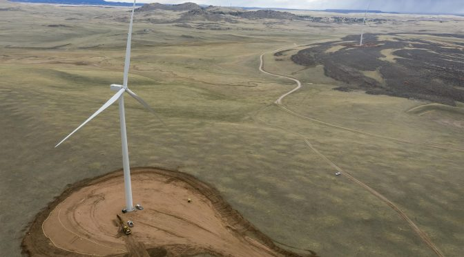 Install more wind turbines, tripling the wind energy of northern Colorado