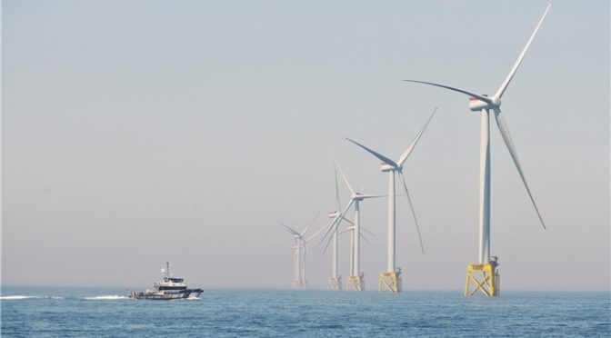 Iberdrola's largest wind farm comes into operation: East Anglia ONE, in UK waters