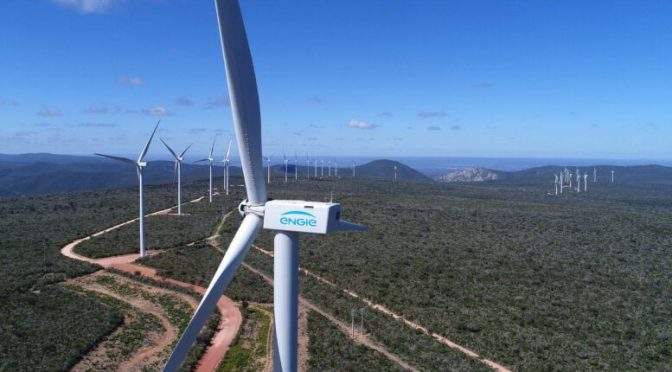 ENGIE's Wind Power Plant in Bahia is among the ten most efficient wind farms in Brazil