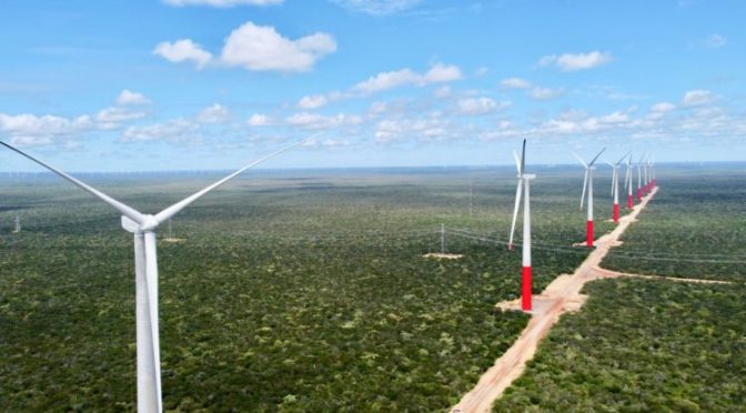 Enerfín has 700 MW in wind energy projects in Brazil