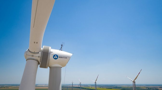 Wind energy in Russia, NovaWind started the Marchenkovskaya wind farm in Rostov