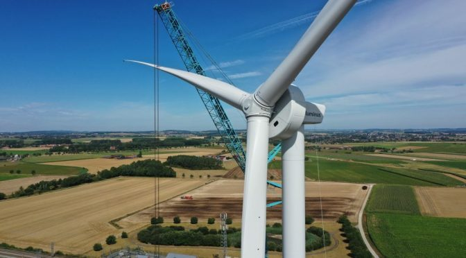 ENERCON publishes sustainability report for the first time
