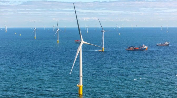 First wind power achieved at Blauwwind wind farm