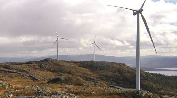 Fosen, the largest onshore wind power plant in Europe