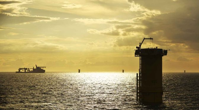 RWE completes installation of foundations and export cables at Triton Knoll offshore wind farm