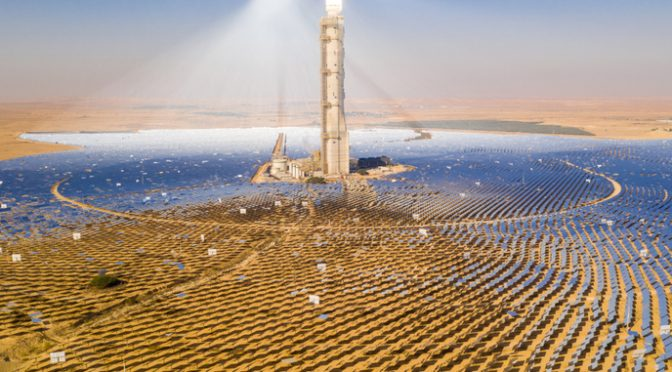 Shedding some light on innovations in Concentrated Solar Power