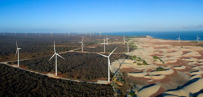 Wind energy from the Northeast will have financing from BNDES