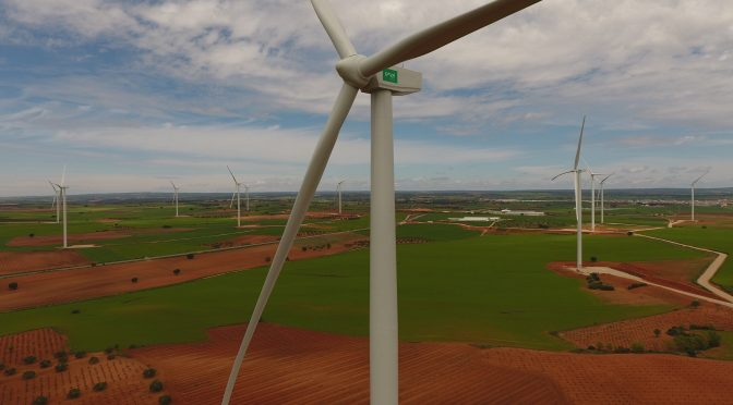 Wind energy in Cuenca, ENDESA connects 51 MW wind farm