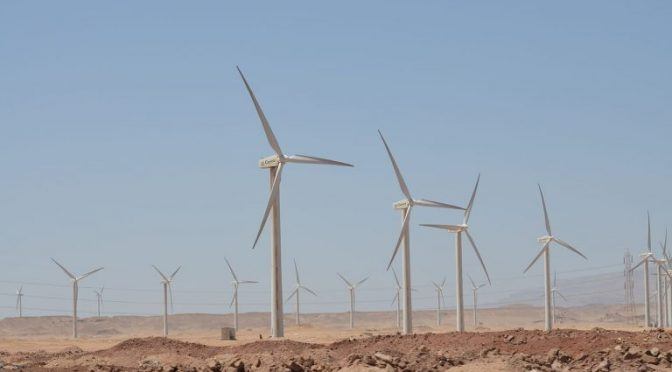 Wind energy in Egypt, Vestas' wind turbines for 252 MW EPC wind farm