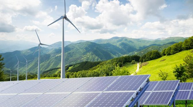Wind energy and solar produced 10% of global electricity in H1 2020