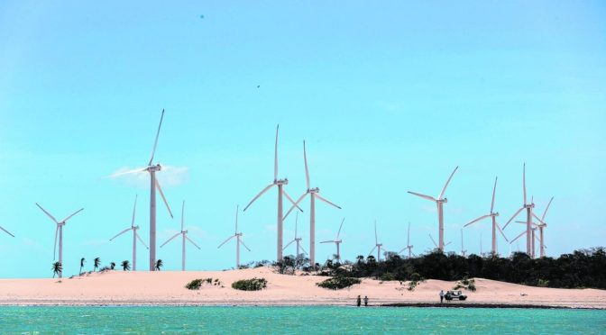 Ceará currently has 86 wind farms and 2,187.9 MW of wind energy