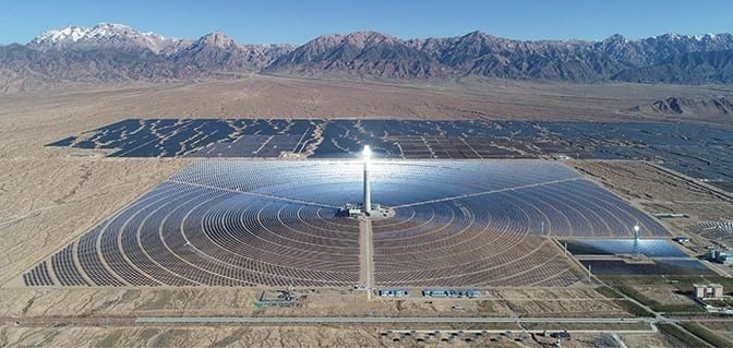 Delingha: A Leap for Molten Salt Tower Concentrated Solar Power Technology