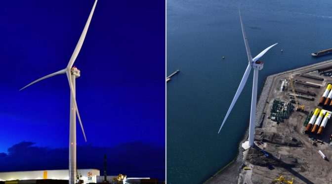 Dogger Bank wind farm places record-breaking wind turbine order boosting local jobs