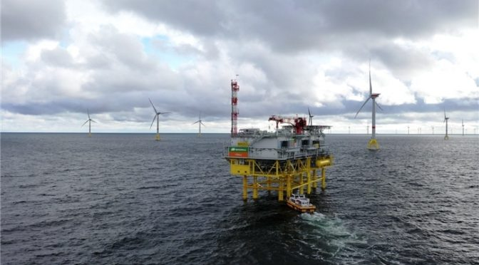 Iberdrola takes part in the New York wind power auction with its Liberty Wind offshore wind farm