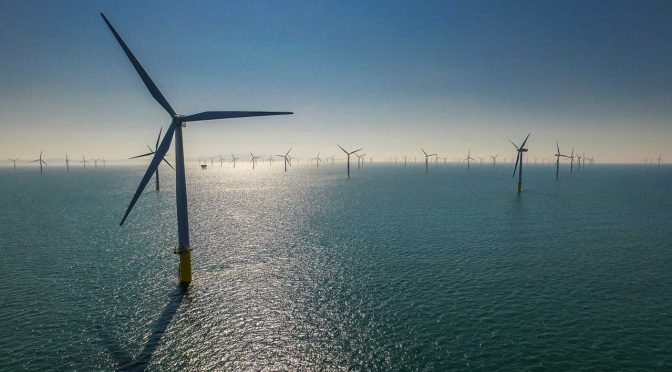 Cost of offshore wind energy is half what it was five years ago
