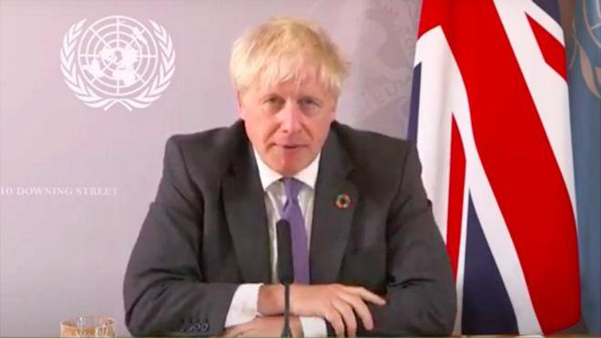 Prime Minister Boris Johnson: UK can be 'Saudi Arabia of wind power'