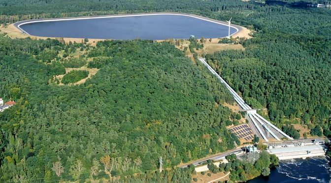 Solar power complements German pumped hydro plants