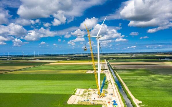 Wind energy in the Netherlands, 50 Nordex wind turbines for Vattenfall wind farm
