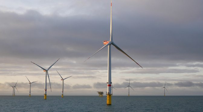 Disadvantage of the auction system for offshore wind energy in Germany