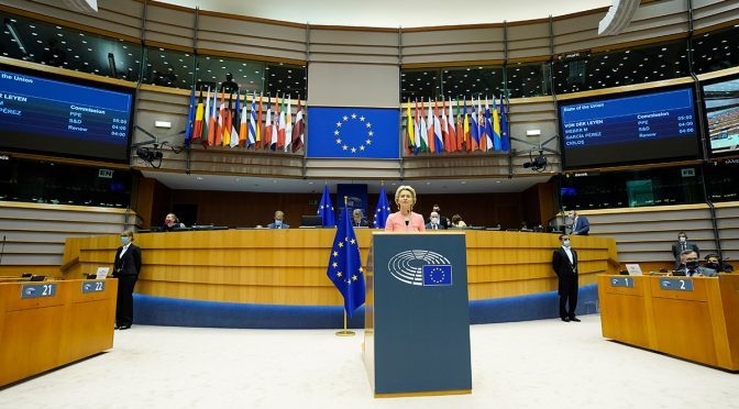 EU recovery budget enters into force