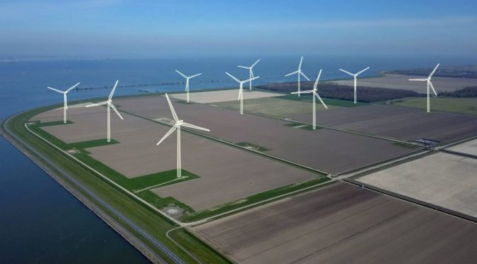 Dutch wind farm built in cooperation with local citizens' initiative