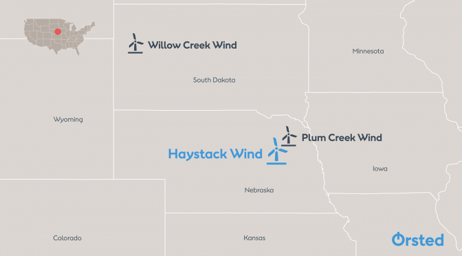 Ørsted starts construction of 298 MW Nebraska wind power project