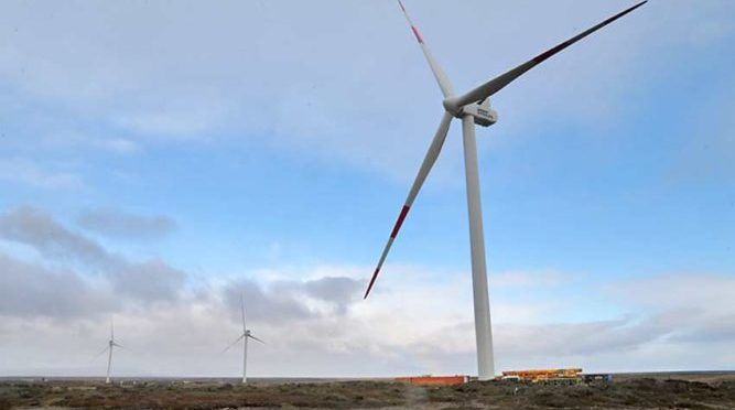 Vientos Patagónicos wind farm started operation
