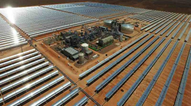 ACWA Power's Bokpoort Concentrated Solar Power plant breaks African record