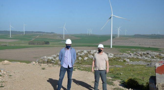 Wind power in Argentina, Los Teros wind farm already has 32 wind turbines