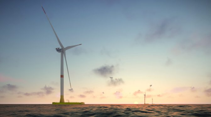 MHI Vestas and EolMed partner for floating offshore wind farm in France