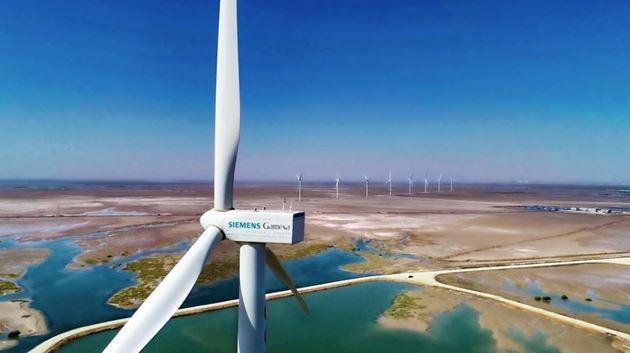 Wind power in Pakistan, Siemens Gamesa supplies wind turbines to eight wind farms