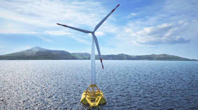 Pilot project for floating offshore wind energy is picking up speed
