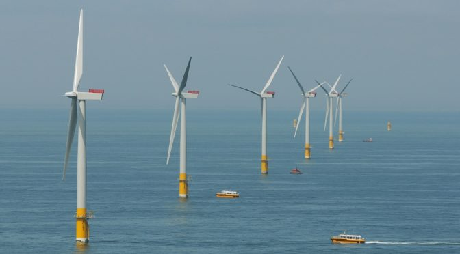 France chooses area off the Normandy coast for 1GW of wind power