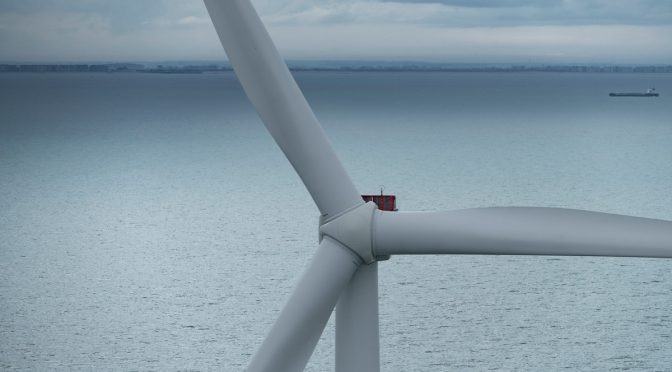 First ever V164-9.5 MW wind turbine installed on a floating wind energy project