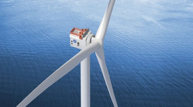 UK Mega Offshore Wind Farm – to Debut GE Haliade-X Technology – Reaches Financial Close