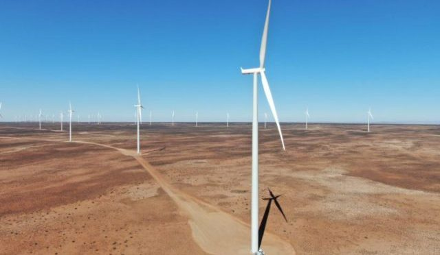 Wind power in South Africa, Kangnas Wind Farm kicks off operations