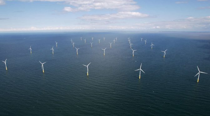 RWE and DEME Offshore install collars on offshore wind power foundations