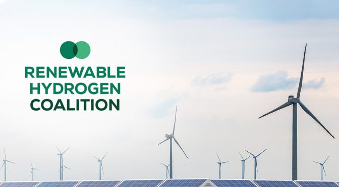 Renewable Hydrogen Coalition will position Europe as world-leader on renewable hydrogen